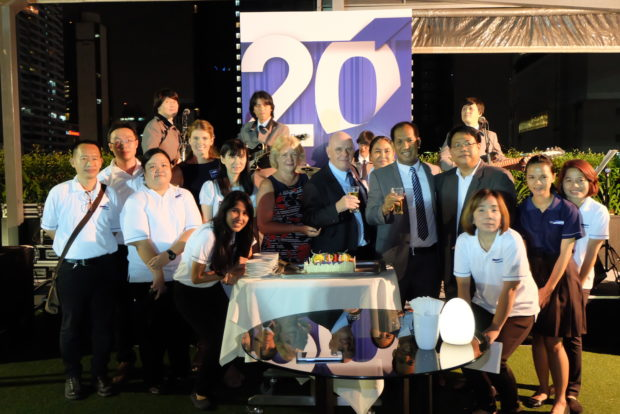 Comcon group celebrates 20 years in Thailand!
