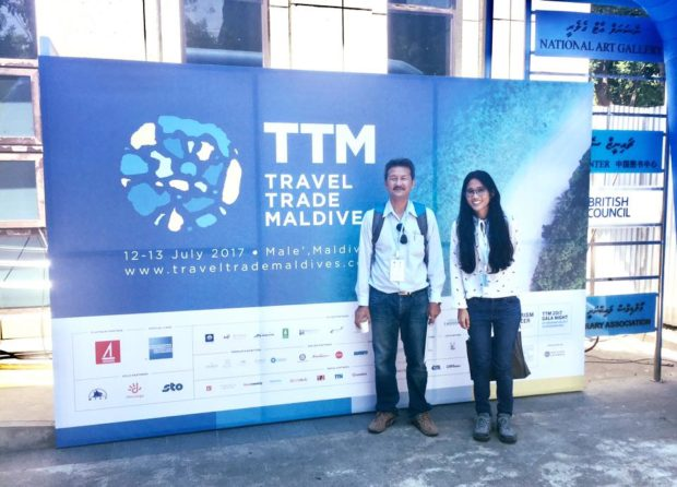 Comcon visited Travel Trade Maldives