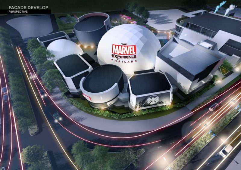Comcon Project Marvel Mega Bangna entertainment center in Bangkok